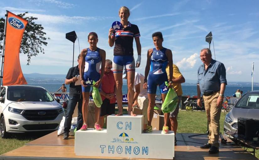 Triathlon de Thonon: fight till you've finished, not till ithurts.