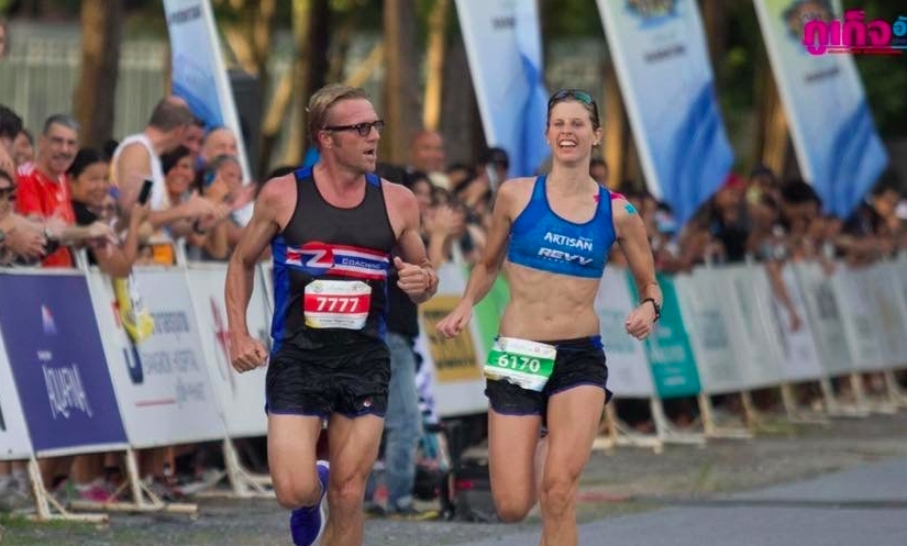 Smashing out the 10.5km to take theWin